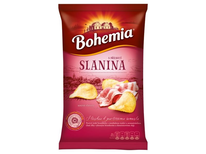 Bohemia Chips s příchutí moravská slanina 150g