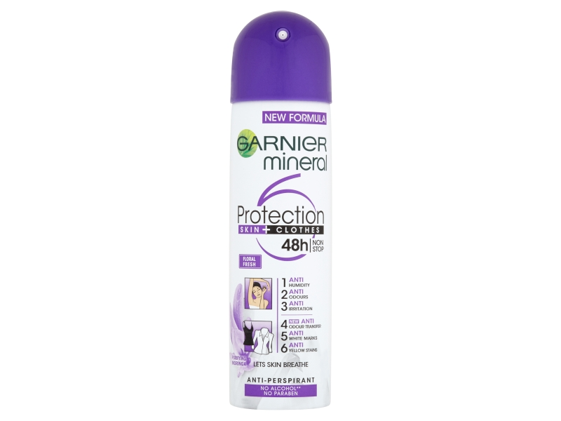 Garnier Mineral Protection Floral Fresh antiperspirant 150ml