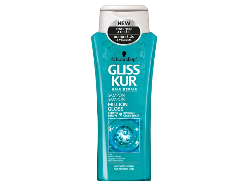 Gliss Kur Million Gloss šampon 250ml
