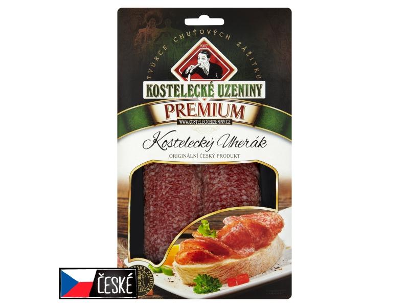 Kostelecké Uzeniny Premium Kostelecký uherák plátky 80g