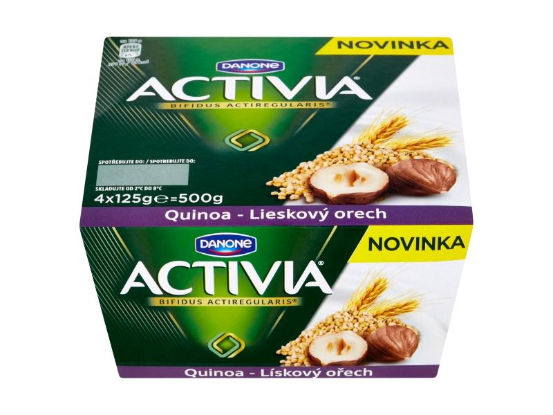 Danone Activia Jogurt s quinoa a lískovými ořechy 4x125g