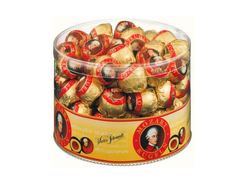 Mozartovy koule bonboniera 825g, dóza
