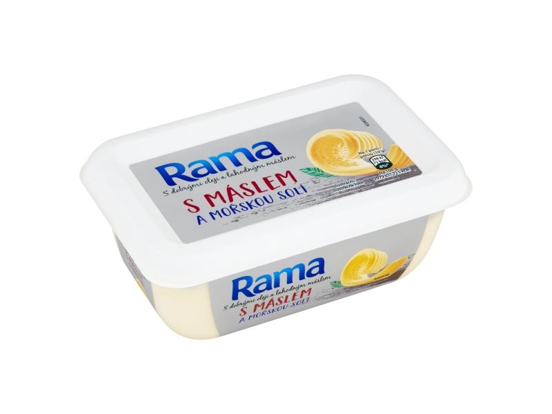 Rama s máslem a mořskou solí 225g