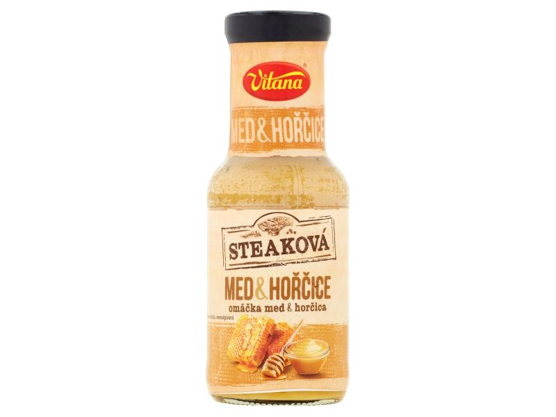 Vitana Steaková omáčka med a hořčice 250ml
