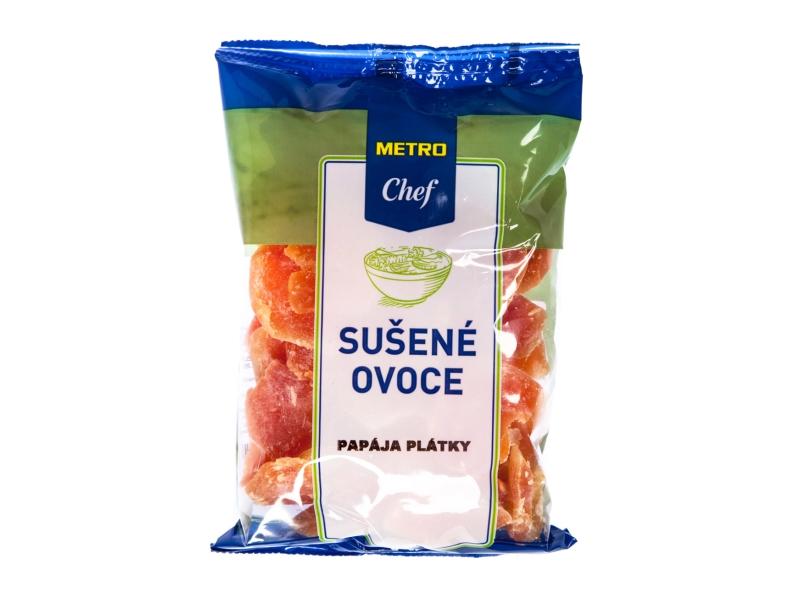 Metro Chef Papája sušená plátky 250g