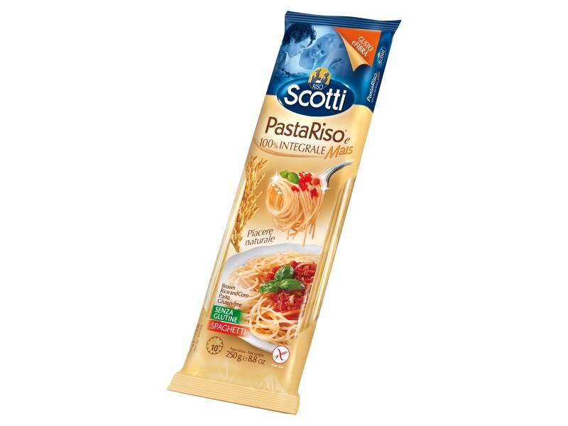 Riso Scotti Špagety hnědé bezlepkové 250g