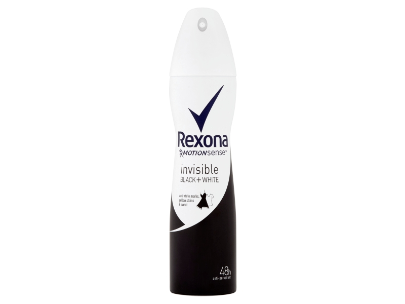 Rexona Invisible Black + White antiperspirant sprej 150ml