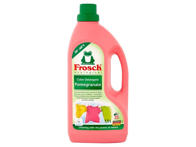 Frosch Ecological Prací prostředek color granátové jablko 22 praní 1,5l