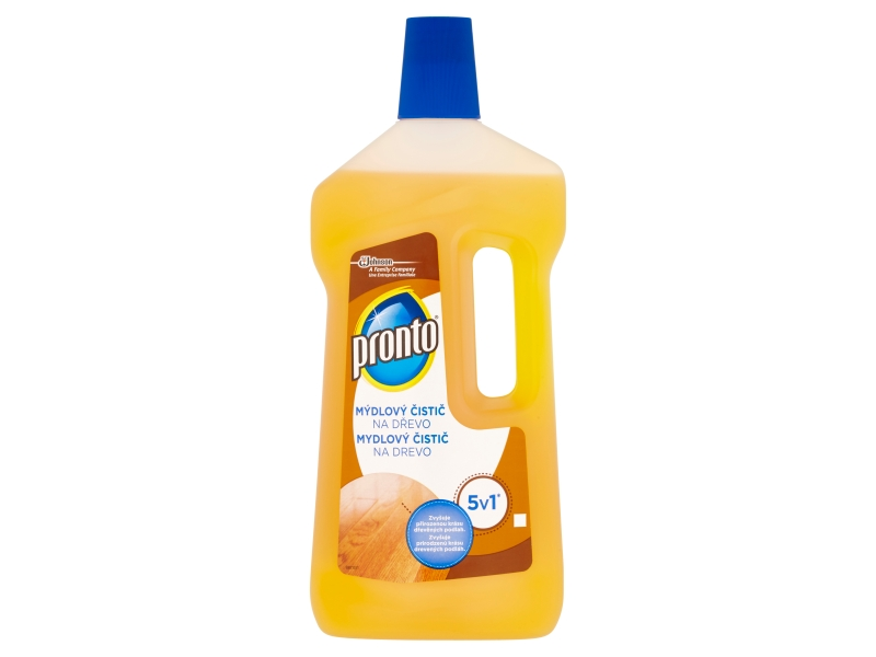 Pronto 5v1 mýdlový čistič na dřevo 750ml