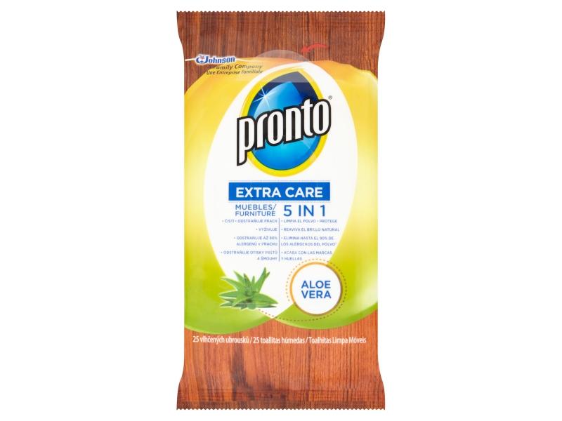 Pronto Extra Care 5v1 Aloe Vera ubrousky 25ks