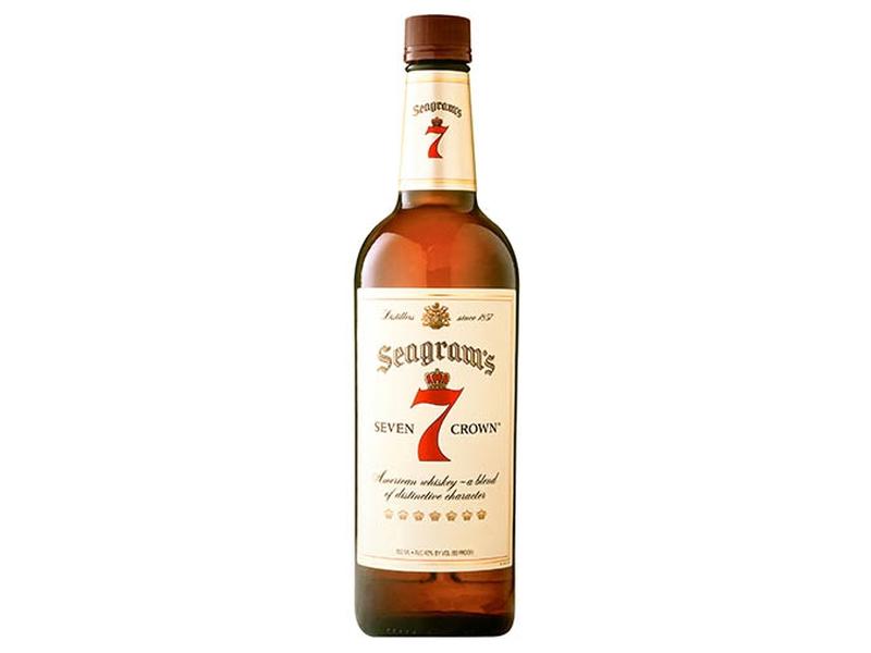 Seagrams 7 Crown Americká whisky 40%, 1l