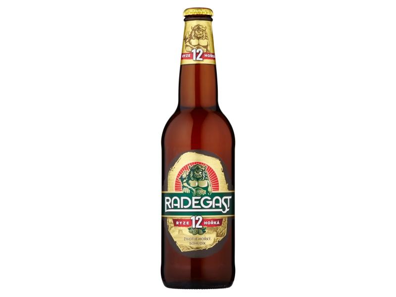 Radegast Ryze hořká 12 pivo ležák světlý 0,5l