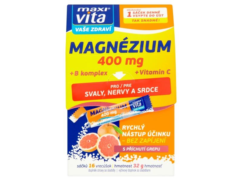 MaxiVita Magnesium 16sáčků 400ml