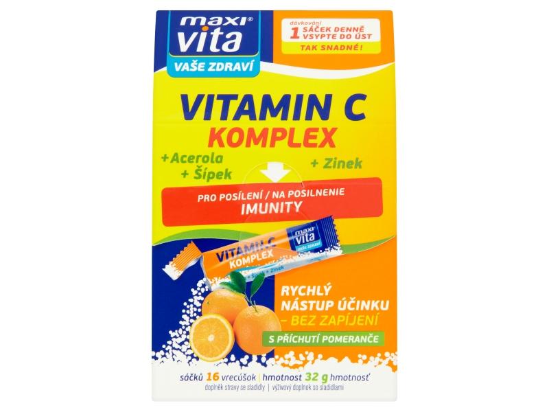 MaxiVita Vitamin C komplex 16sáčků