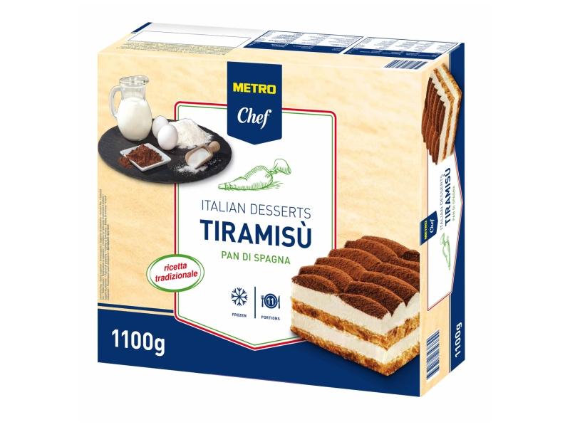 Metro Chef Tiramisu Pan di Spagna mražené 1100g