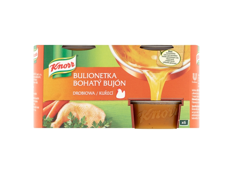Knorr Bohatý Bujón Kuřecí, 6x28g