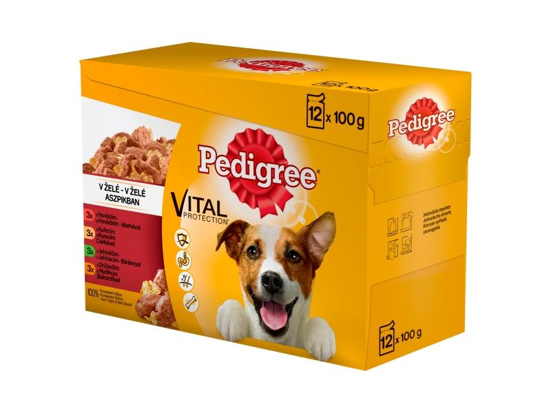 Pedigree Vital Protection 100% kompletní výživa v želé 12x100g