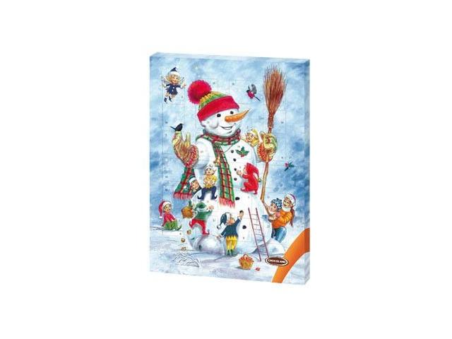 Chocoland Adventní kalendář Veselý sněhulák 50g