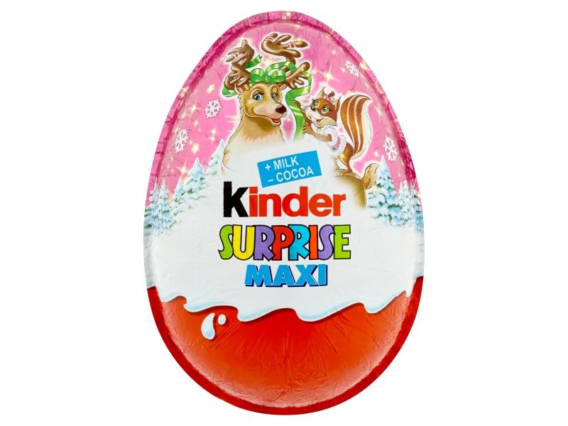 Kinder Surprise Maxi sladké vajíčko s mléčnou čokoládou - s překvapením 100g