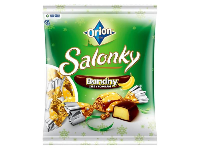 Orion Salonky banány 380g