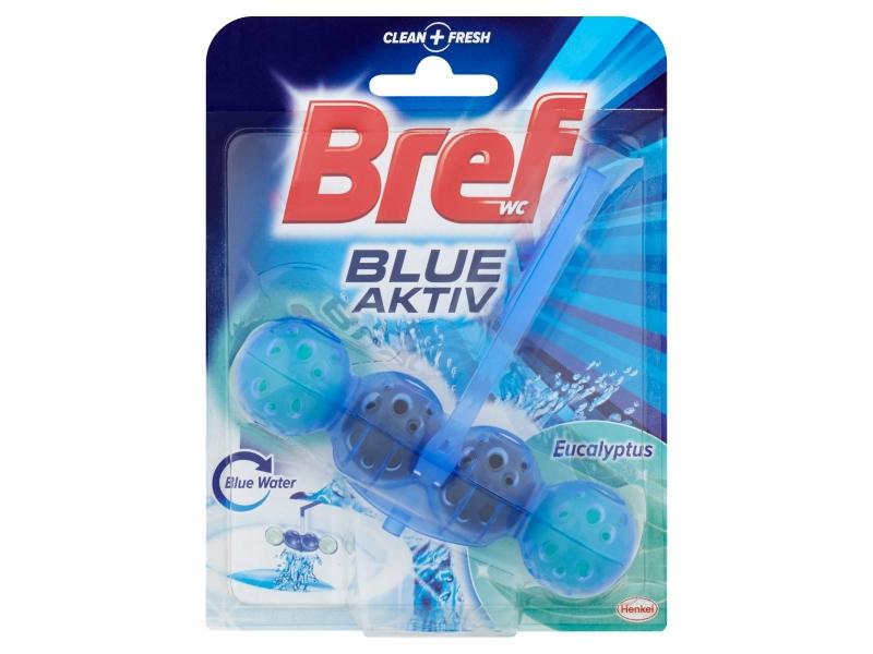 Bref Blue Aktiv Eucalyptus tuhý WC blok 50g