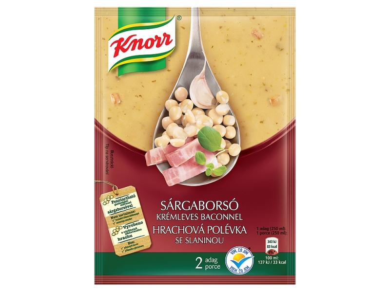 Knorr Krémová Hrachová polévka se slaninou 50g