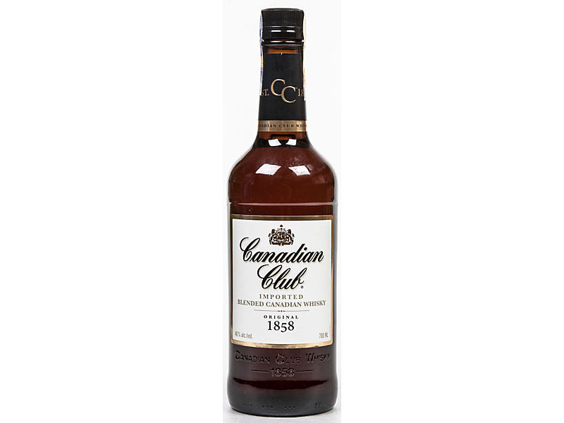 Canadian Club whisky 5letá 40% 700ml