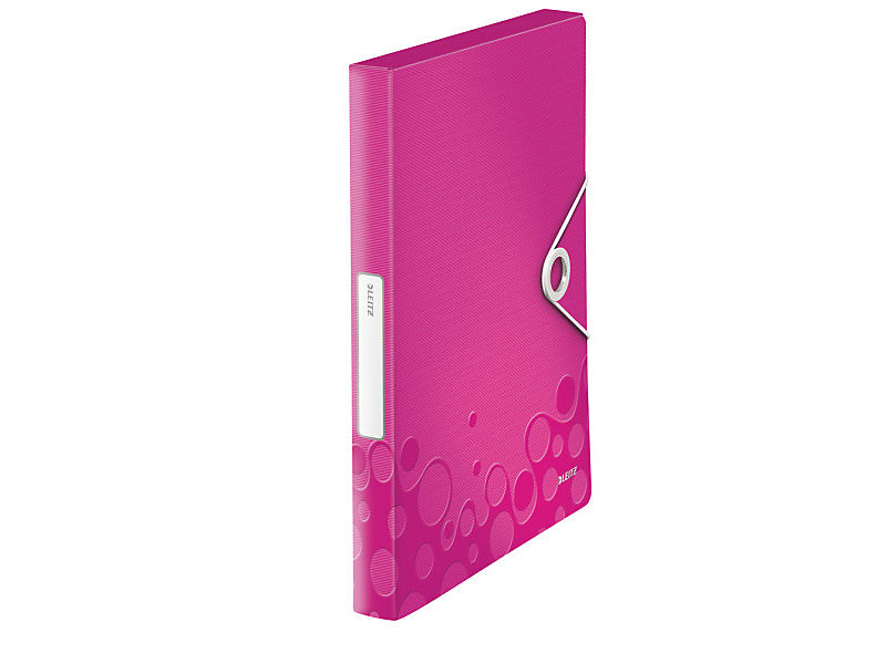 Box na spisy Leitz Wow PP růžový