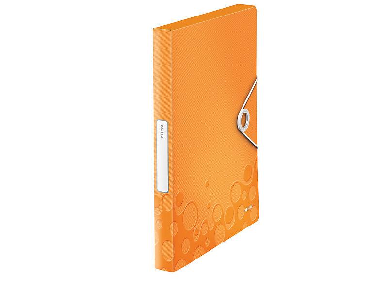 Box na spisy Leitz Wow PP oranžový