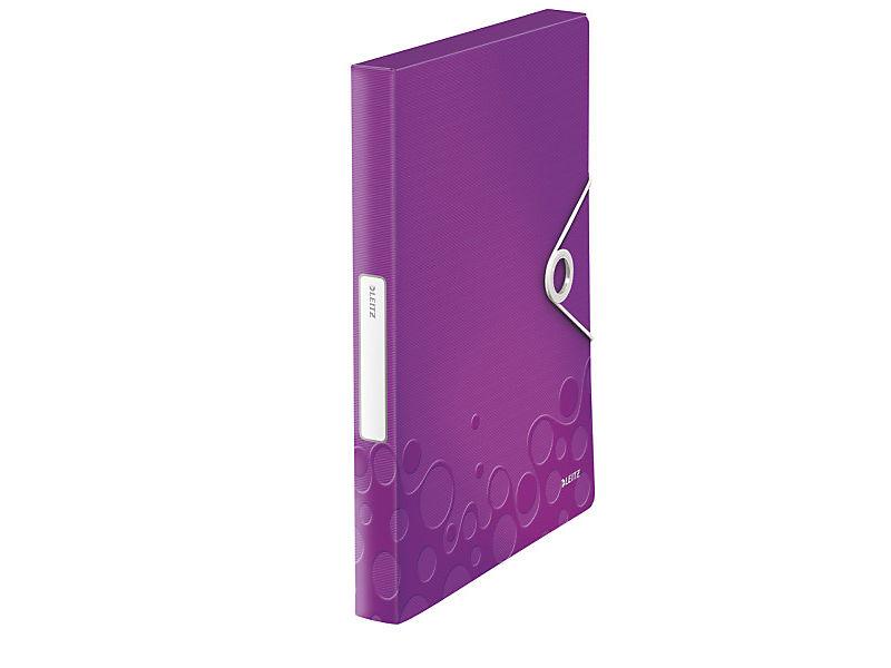 Box na spisy Leitz Wow PP purpurový