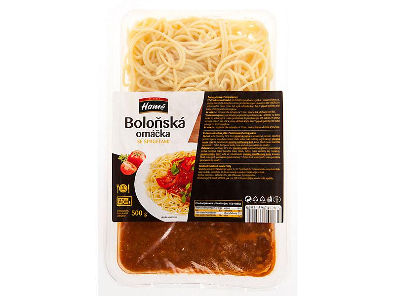 Hamé Špagety s boloňskou omáčkou 500g