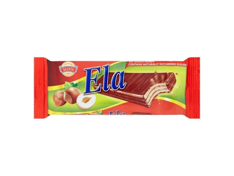 Sedita Ela DIA Oplatky s lískooříškovou náplní v kakaové polevě 25g