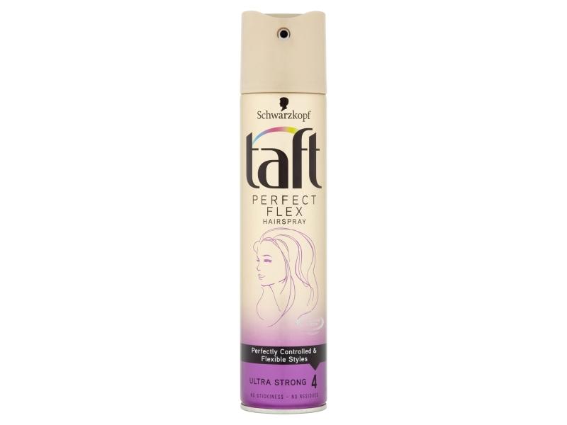 Taft Perfect Flex lak na vlasy Ultra Strong 4, 250ml