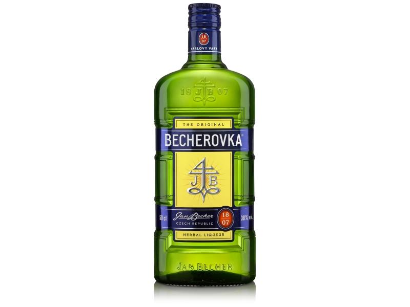 Becherovka Original Likér 38%, 500ml