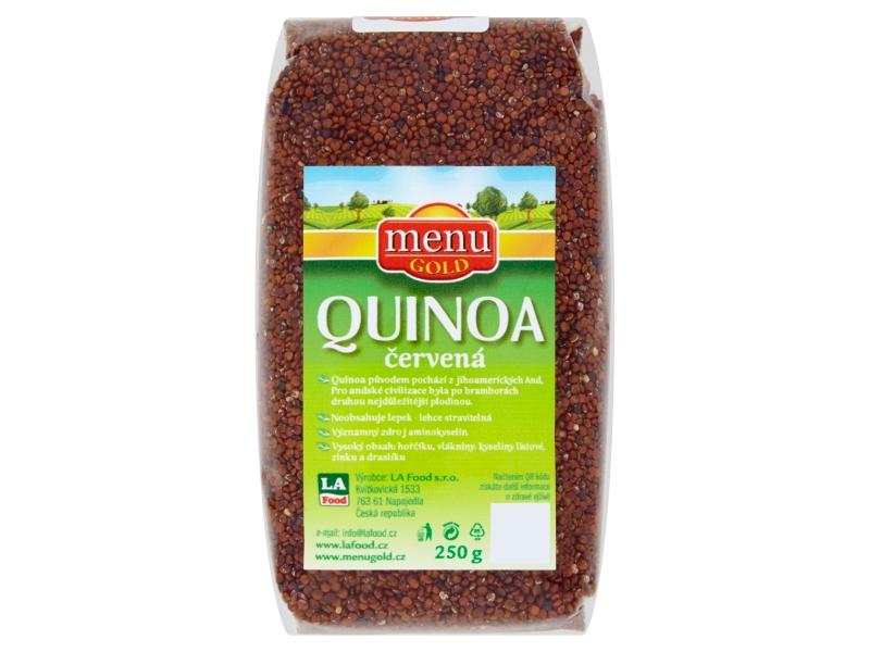 Menu Gold Quinoa červená 250g