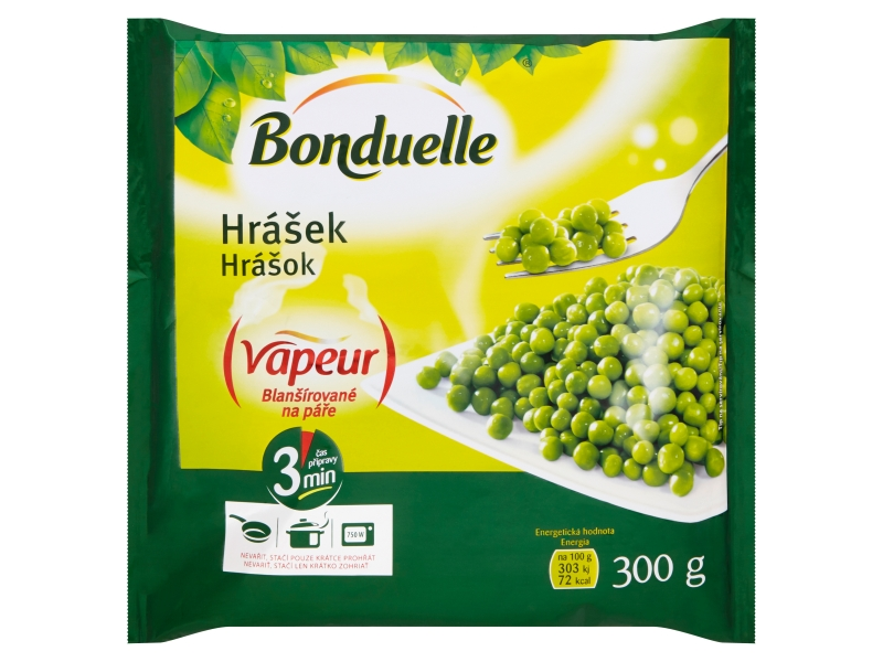 Bonduelle Vapeur Hrášek mraž. 300g