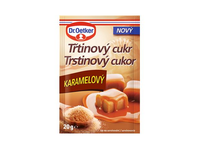 Dr.Oetker Třtinový cukr karamelový 20g