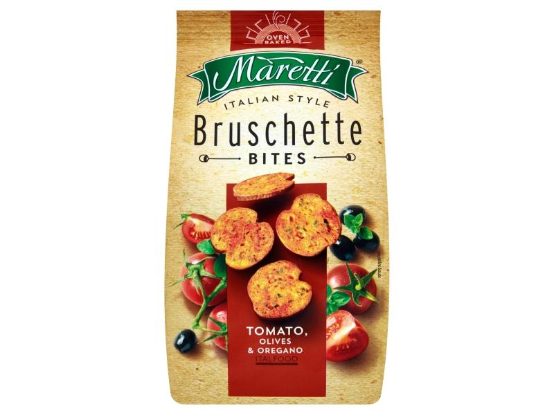 Maretti Bruschetty s příchutí rajčat, oliv a oregana 70g