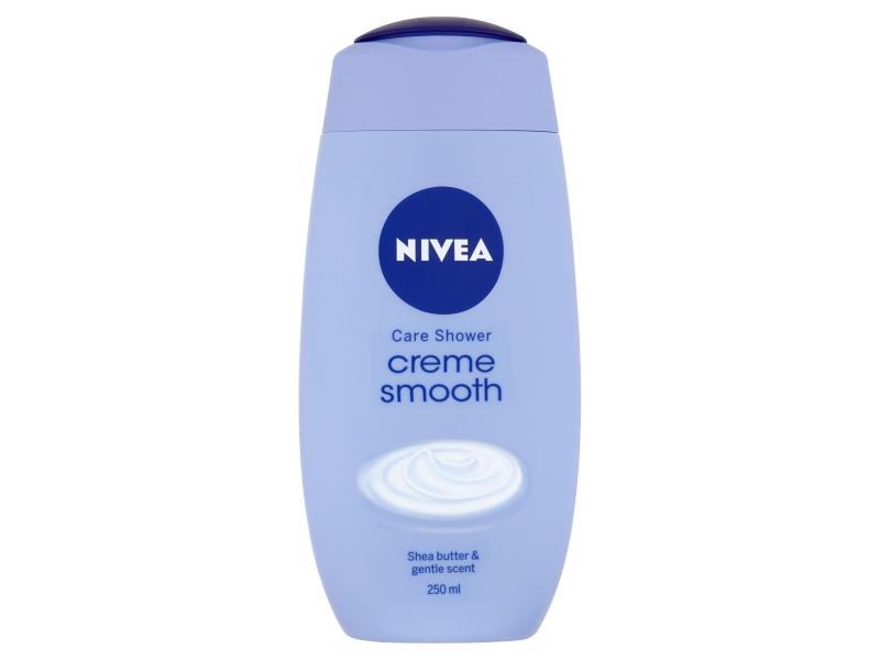 Nivea Creme Smooth Pečující sprchový gel 250ml