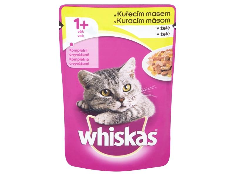 Whiskas S kuřecím masem v želé 100g
