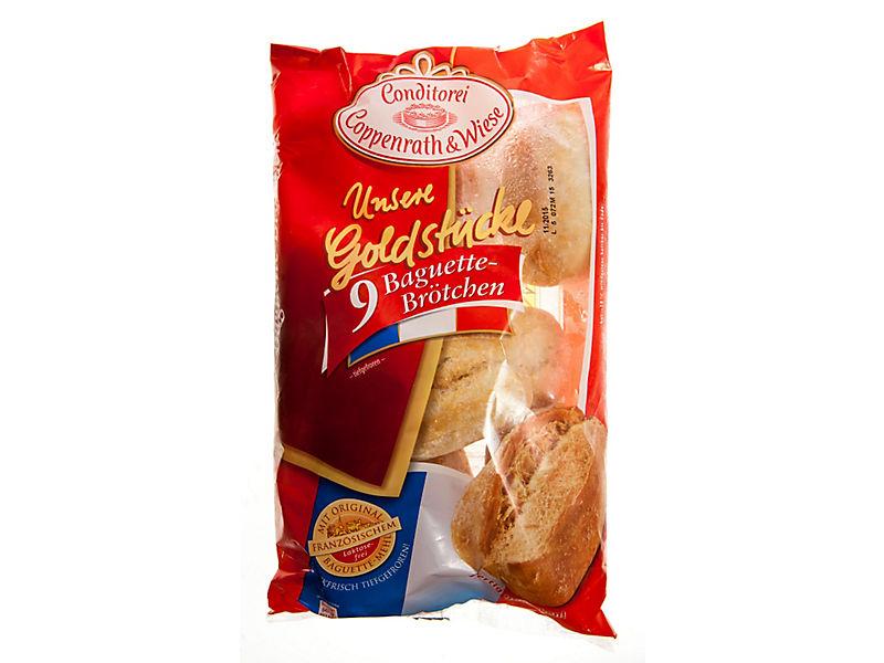 Coppenrath & Wiese Bagetky chlebové mražené 9x60g