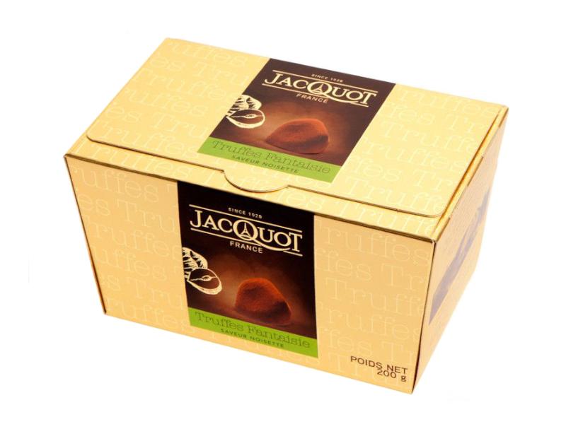 Jacquot Truffles Hazelnut Lanýže 200g