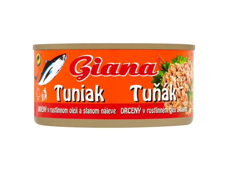 Giana Tuňák v oleji drť 185g