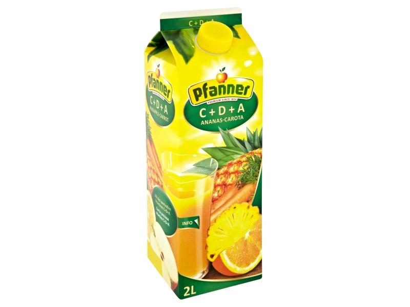 Pfanner C+D+A ovocno-zeleninový nápoj 2l