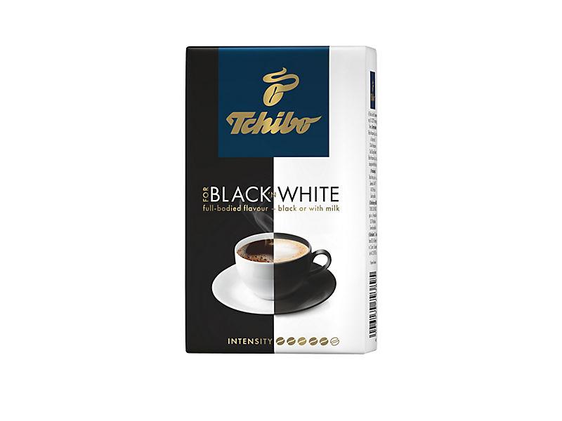 Tchibo Black&White mletá káva 250g