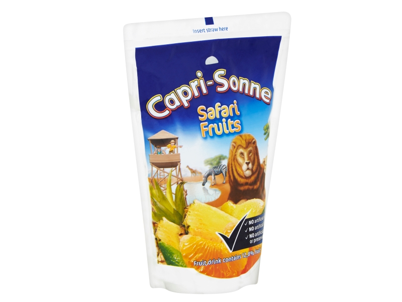 Capri Sonne Safari Fruits ovocný nápoj 200ml