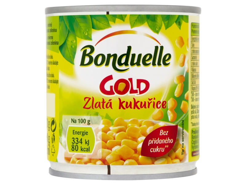 Bonduelle Gold Zlatá kukuřice 212ml