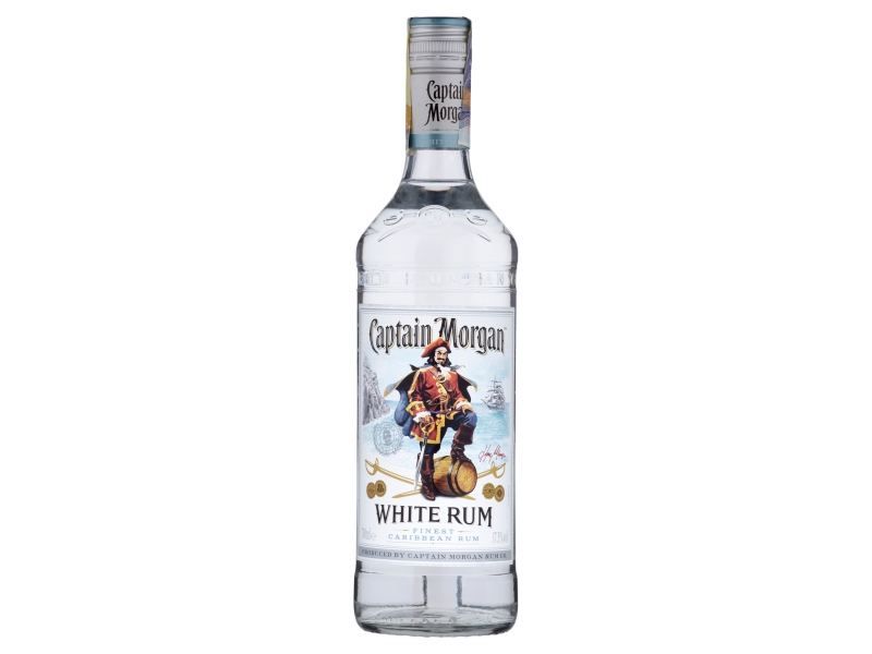 Captain Morgan White Rum 37,5% 700ml