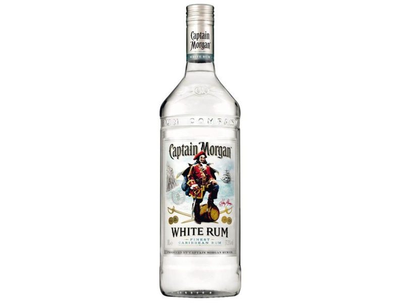 Captain Morgan White Rum 37,5%, 1l