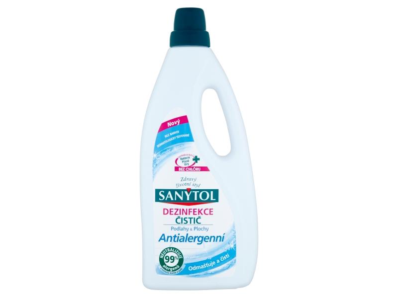 Sanytol Dezinfekce čistič podlahy & plochy 1l